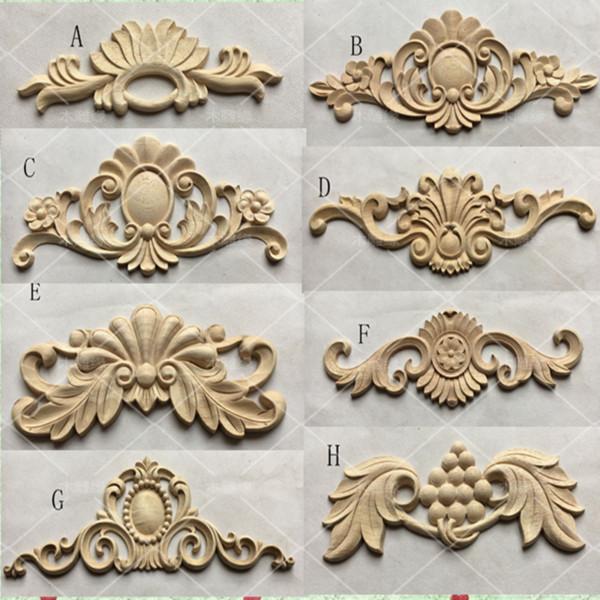 Großhandel Europäischen Stil Holzschnitzereien Aufkleber Ecke Blumen Möbel Tür Dekoration A768 Von Sophine12 2491 Auf Dedhgatecom Dhgate