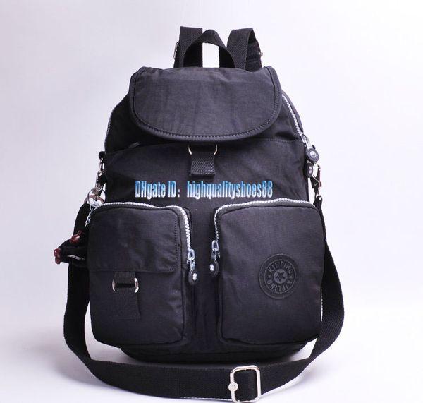 Men madam Ultralight stripe zipper waterproof Nylon monkey star PRINTED Multicolor pocket backpack City Pack in common use Pack K13116-02A
