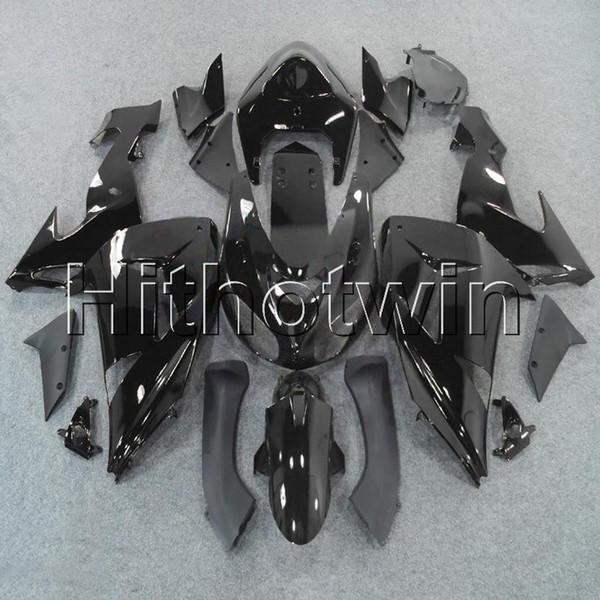 23colors + 8Gifts Matte Black Body capot de moto pour Kawasaki ZX-10R 06 07 ZX10R 2006 2007 ABS Revêtement en plastique