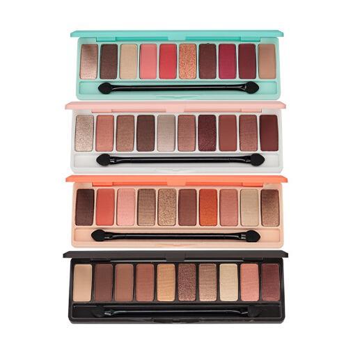 Paleta da sombra da moda 10 cores matte eye sombra paleta de nu glitter maquiagem sombra nua makeup set coreia cosméticos