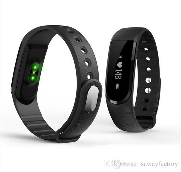 Intelligent heart bracelet ID101 sport pedometer remindme sleep test Bluetooth, remote camera, music control / waterproof and dustproof ring