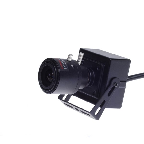 Mini ip camera H.264 2.0MP 1080P ONVIF Network cam 2.8-12mm Manual Varifocal 4X Zoom lens P2P XMeye With Bracket