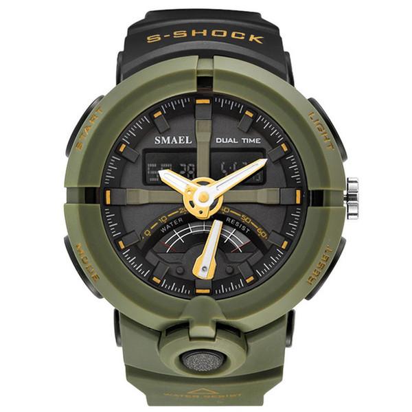 SMAEL Fashion Sport Watch Men Top Brand Luxury Famous Waterproof LED Digital Wrist Watch S Shock Male Clock For Man RelogioSMAEL Fashion Spo