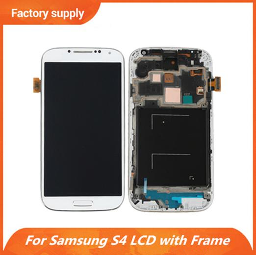 Best Quality For Samsung Galaxy S4 i9500 i9505 i9515 i337 LCD Screen + Digitizer Touch + Full Frame Assembly With Free DHL Shipping