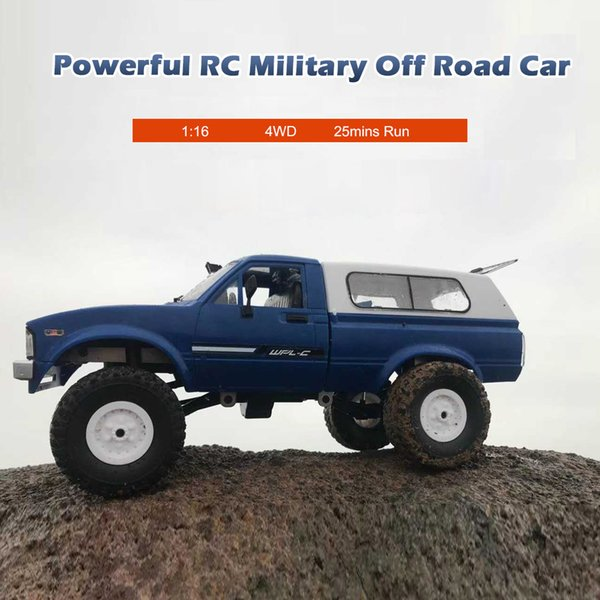 New WPL C24 RC Car 1:16 4WD Radio Control Off-Road Mini Car RTR Rock Crawler Electric Buggy Moving Machine RC Cars Kids Play