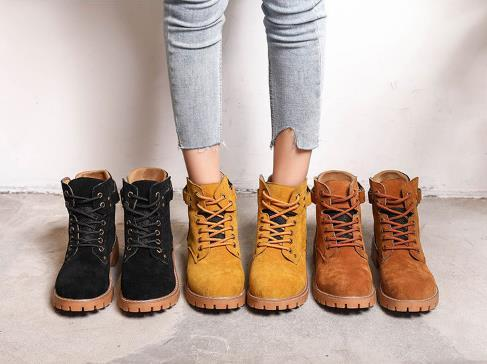 Vintage Autumn Winter boots Men women Martin boots Genuine Leather Hiking shoes motocross Cowboy Boots Combat Military Outdoor Sports4.5-11
