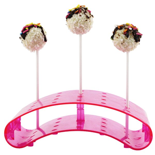 Base del sostenedor del soporte de exhibición de la piruleta del chocolate para las bodas Fiesta de cumpleaños de la fiesta de bienvenida al bebé Hogard