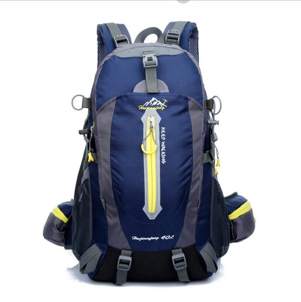 Men Women Sport Outdoor Bags 40L Waterproof Climbing Backpack Bike Bicycle Bag Travel Camp Hike Laptop Daypack Trekking Rucksack