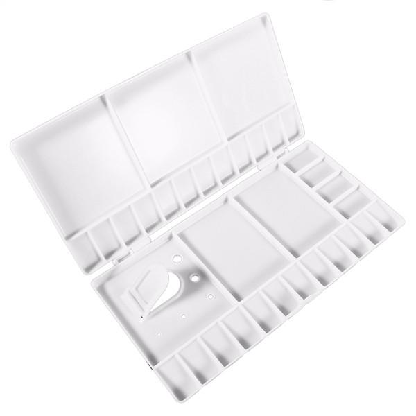 Perfect-Art Paint Tray Artist Oil Acuarela Plastic Palette White 33 Grids Large Size