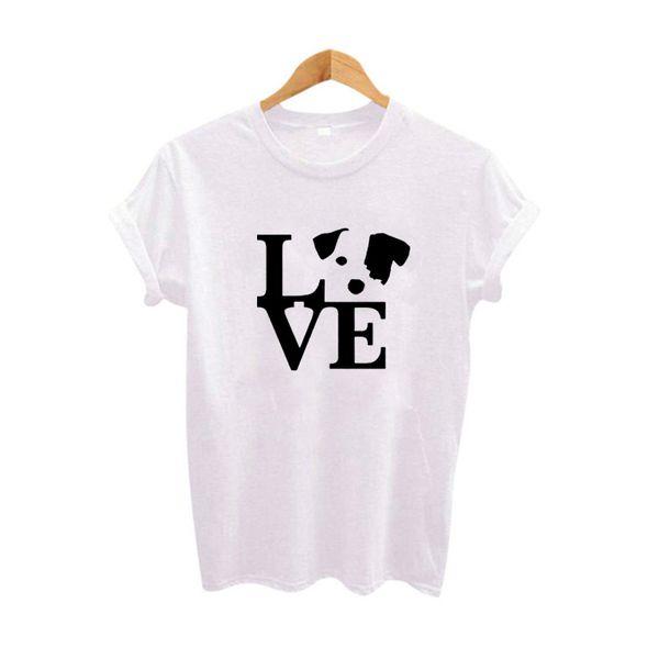 8204716c Women's Tee Youth Girl's T-shirt Cute Lover Dog Graphic Tee Shirt Funny  Printed Tshirt Women's Cotton T Shirt Size S - Xxl