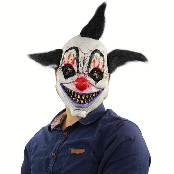 Acessórios Traje de Halloween Horror Feiticeiro Palhaço Máscara Casa Assombrada Room Escape Dress Up Show Ao Vivo Assustador Tampa Da Cabeça