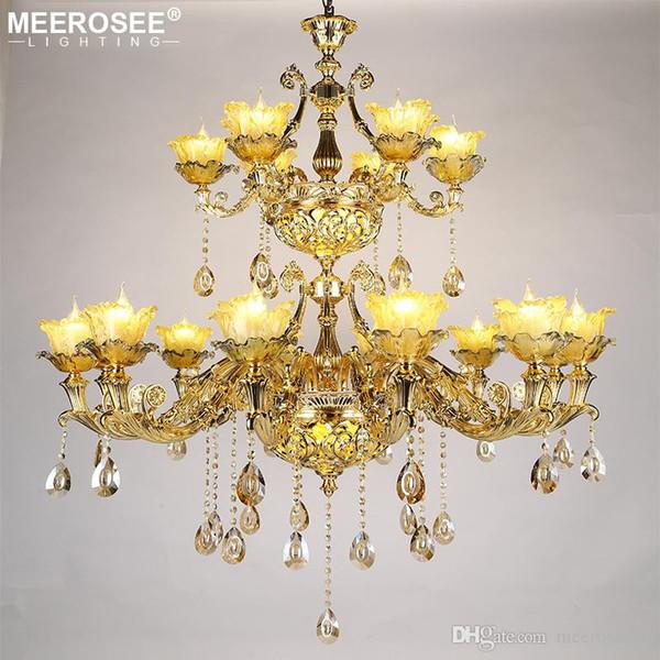 Luxury Crystal Chandelier Light Fixtures Modern Hanging Lamps For Restaurant Foyer Lustres de Cristal Luminaire