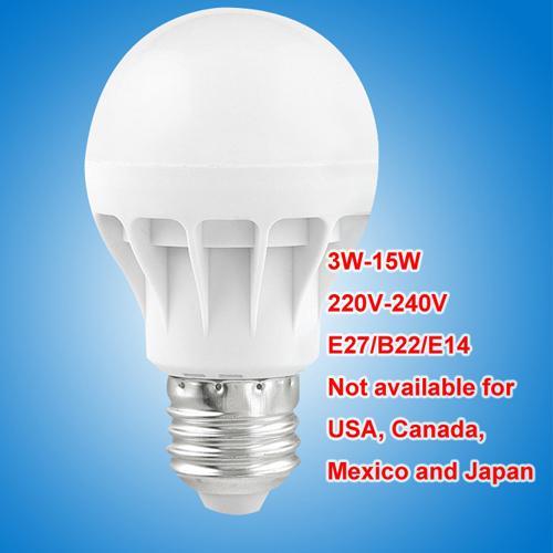 LED bulbs E27 B22 E14 globe Bulbs Lights 3W-15W SMD2835 LED Light bulbs super bright light bulb energy-saving light 220V 230V 240V