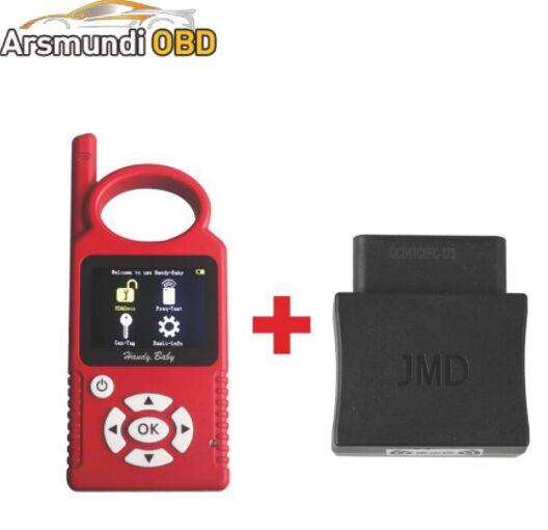 Mejor Rusia Español Portugués Handy Baby Car clave de la copia Auto Key Programmer para 4D / 46/48 Chips + JMD Assistant G Chip Copy Function