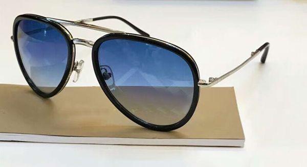 Gold Blue Shades Pilot Sunglasses Folding Sonnenbrille unisex des lunettes de soleil luxury Designer glasses sun glasses new with box