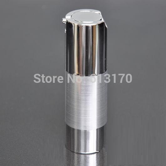 10pcs 30ml siliver bouteille sans air contenant des récipients cosmétiques pompe à vide bouteille pour hommes ou femmes bouteille vide bricolage Livraison gratuite
