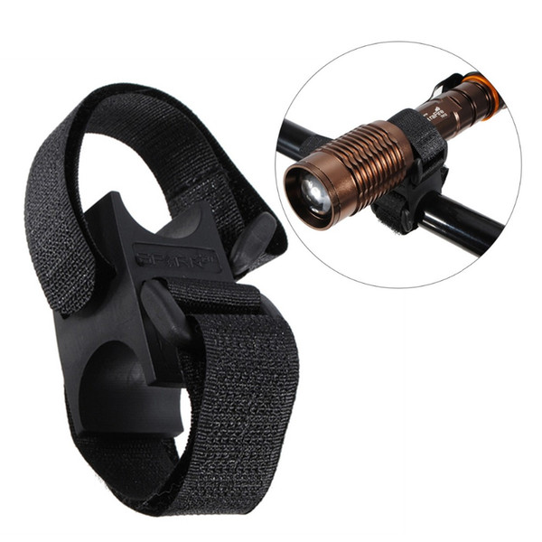OUTERDO Silicone MTB Bike  Mount Clamp Adjustable Bicycle Mount Fits Dia 2~4cm Lights Universal Cycling Clamp