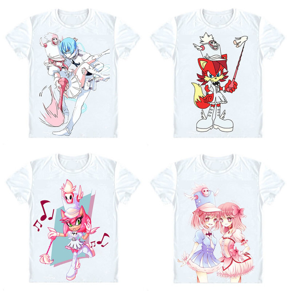 Kill la Kill T-Shirts Short Sleeve Shirts Anime Manga Kiru Ra Kiru tshirts Nonon Jakuzure Goku Uniforms Kanade no So Cosplay Shirt