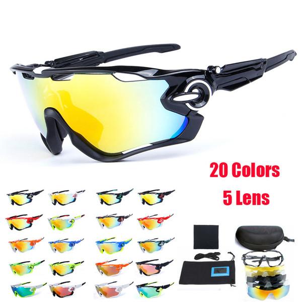 Polarisierte radfahren brille 5 gruppe lens mans mountainbike brille sport mtb fahrrad sonnenbrille ciclismo radfahren brille