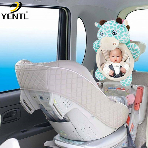 Free shipping Wide View Rear Adjustable Safety Seat Car Back Mirror Headrest Mount For Baby Easy View Facing Rear Ward Child Infant Care