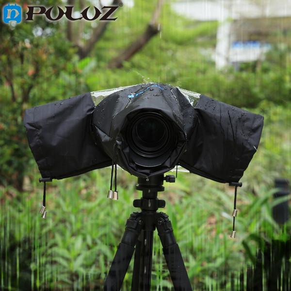 Großhandel Professionelle Kamera Regen Abdeckung Mantel Tasche Schutz gegen Regen Regenmantel für Canon Nikon Pendax DSLR SLR Kamera