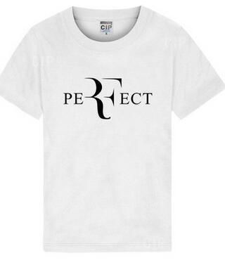 83cf57b6 Nouveau Roger Federer RF Tennis T-shirts Hommes Coton T-shirt Manches  Courtes hommes