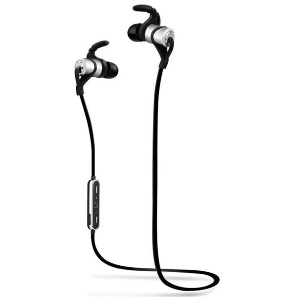 Sports Bluetooth Headset wireless Earbud With Built-in Microphone Sweat Proof Earphone For Phones And Music
