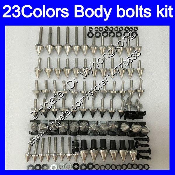 Fairing bolts full screw kit For KAWASAKI ZX14R 06 07 08 09 11 ZX 14R ZX-14R 2006 2007 2008 2009 2011 Body Nuts screws nut bolt kit 25Colors
