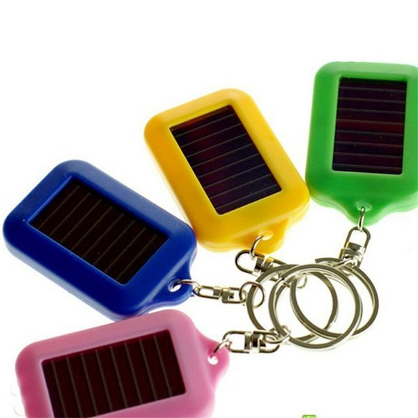 Special offer 2018 keychain OPPOHERE Portable Outdoor Solar Power 3 LED Light Keychain Keyring Torch Flashlight Lamps free shipping