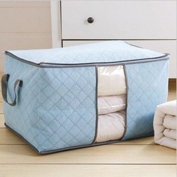 Home Storage Bag Nuova impermeabile Oxford tessuto biancheria da letto Abbigliamento cuscini trapunta Organizer Bag Pouch Zip Storage Box
