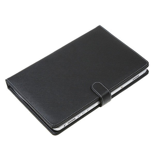 "Universal PU Leather Cover Material Stand Case with Micro USB Interface Keyboard 7"" Android tablet leather stand cover 7 inch Case"