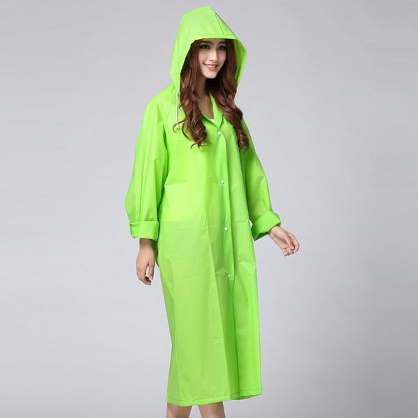 Vendita popolare Pioggia Gear Donna Lungo impermeabile Impermeabile Antipioggia Maschio Poncho donna arrampicata Taglia M-XL