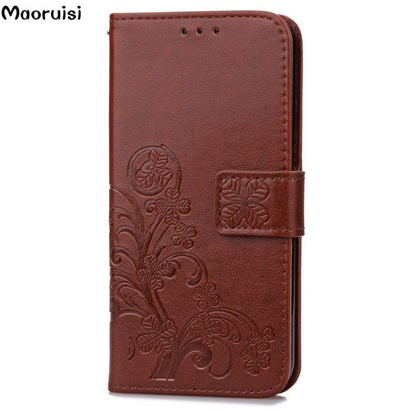 For Samsung Galaxy J7 Prime Case Flip PU Leather & Silicone Mobile Wallet Case For Samsung J7 Prime Cover On7 2016