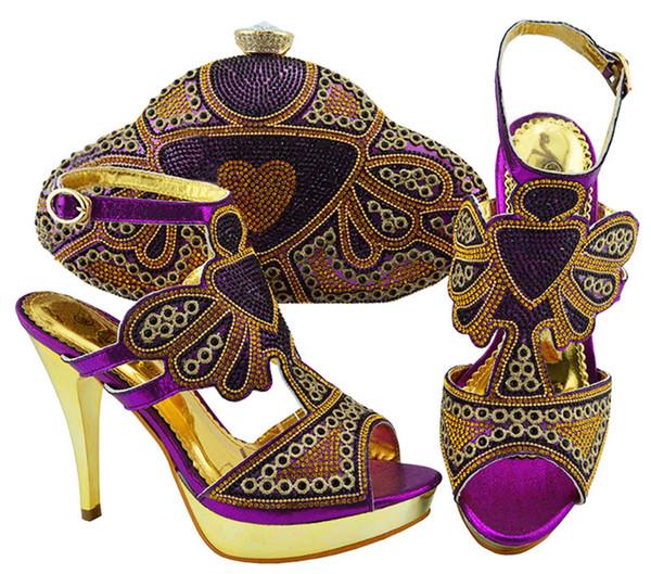915eb2d8aa9c68 Ensemble de chaussures et de sacs assortis pour le mariage africain  Ensemble de chaussures et de