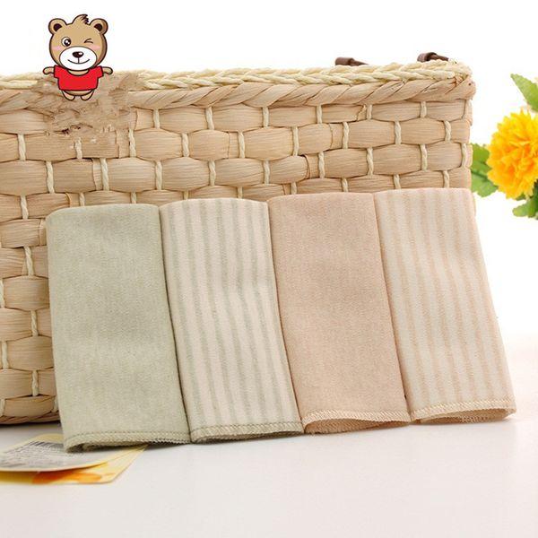 4 Pc/lot Baby Cotton Towel Organic Cotton Baby Soft Towel Slobber newbron bibs towels