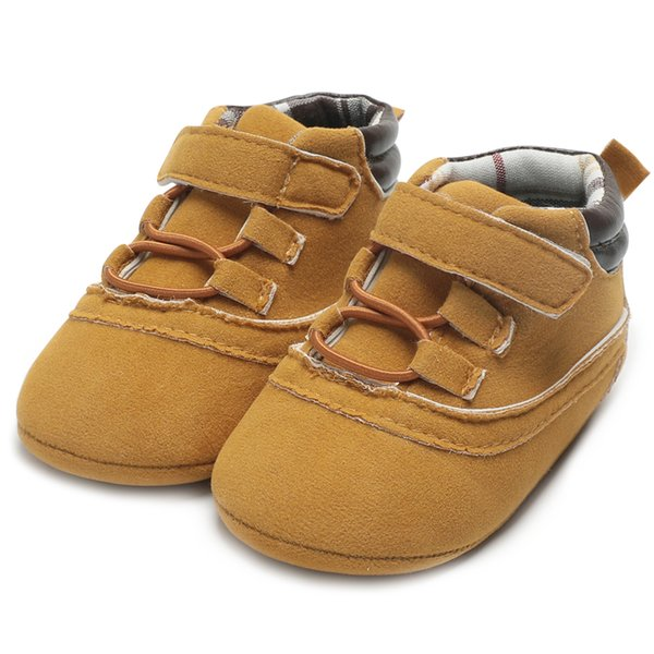 Infant Shoes Baby Boy Winter Baby Moccasins Newborn Kids Canvas Shoes Winter Toddler Sneakers First Walkers