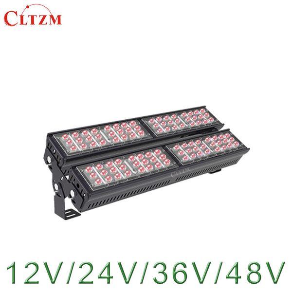 CLTZM LED Infrared Lamp IR FloodLight 200W AC12/24/36/48V illuminator Lamp IP65 Waterproof for Security CCTV Surveillance Camera
