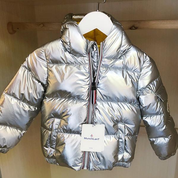 Yürüyor Boys Kız Giyim Setleri çocuk Aşağı Ceket Kış Sıcak Kapüşonlu Gerçek Kürk Yenidoğan Bebek Çocuk Kostüm Kar Suit 30 #