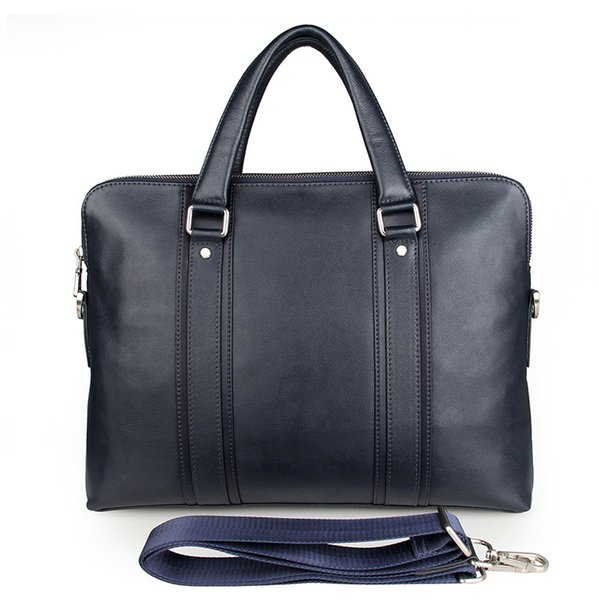Leather Briefcase Men 15 inch Laptop Bag Male Messenger Bags For Men's Crossbody Bags Large Business Bag Handbag Men