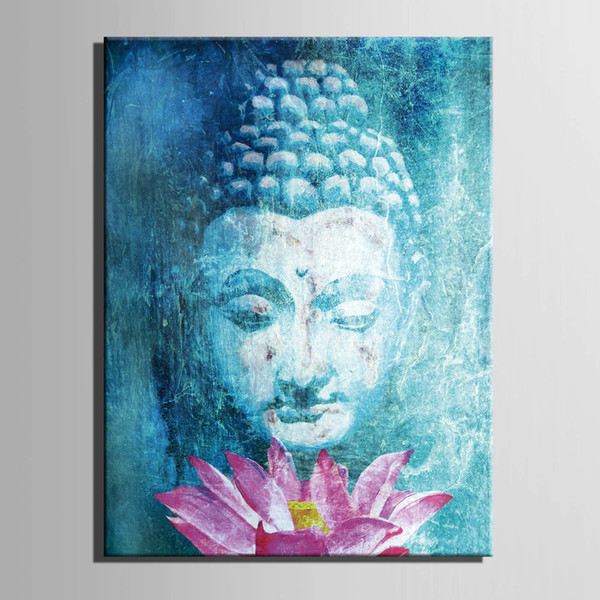 HD Print religion Buddha canvas wall art painting canvas wall art picture for living room decor painting home decor art /PT1332 Y18102209