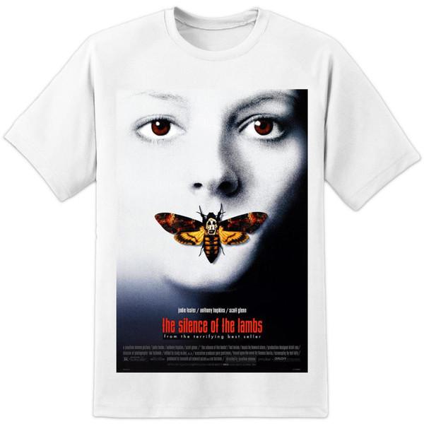 Hannibal Lecter à manches courtes T shirt film le silence des agneaux