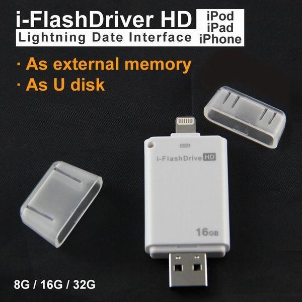 U34 usb NEW High quality USB flash drive 64G i-flash drive HD USB memory stick Pendrive for iphone/ ipad/PC/MAC