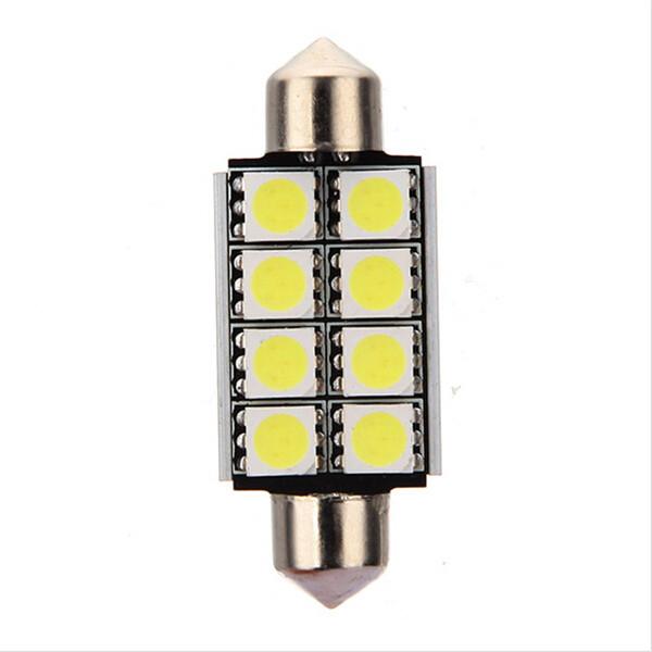 Festoon Canbus Error Free Led Light Bulb 12V DC For Map Dome bulb Car Interior Lights 6000k
