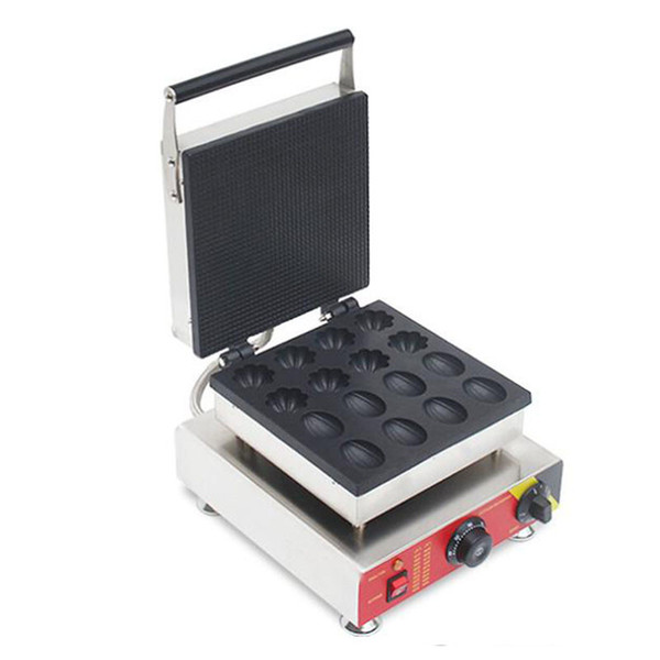 BEIJAMEI Milk Tea Shop Commercial Use Non-stick Electric Flower Nuts Shaped Waffle Maker Muffin waffle making machine price