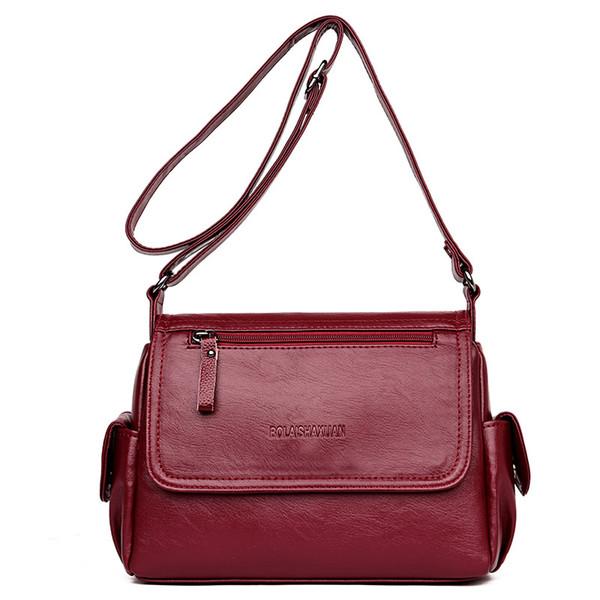 Haut grade moyen âge femme sac nouveau style sac mode à la mode dame unique épaule Satchel mère pack sac de commerce extérieur