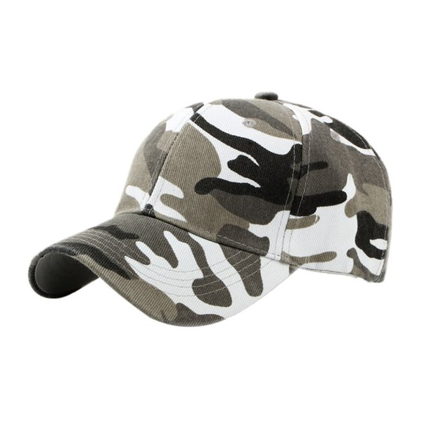 Outdoor sports cap camouflage cap cotton sweatband with sweat to wear more comfortable 3 colors travel