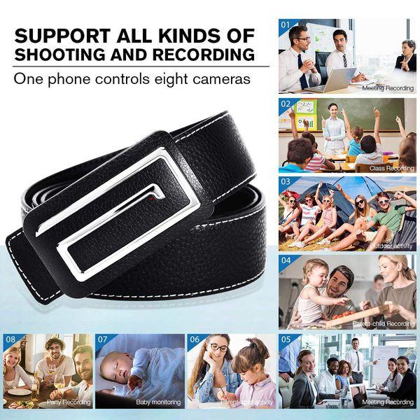32 ГБ памяти встроенный HD 1280*720P WiFi IP P2P кожаный ремень камеры беспроводной интернет ремень камеры для iPhone, iPad, Android телефон Cam PQ237
