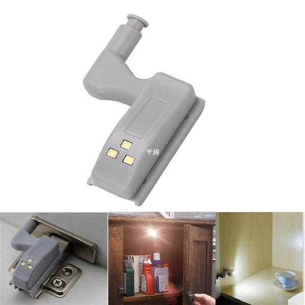 Mini Universal Cabinet Schrank Scharnier LED Licht LED Sensor Unter Kabinett Lichter Für Moderne Küche Schlafzimmer Lampe Nachtlicht Batteriebetrieben