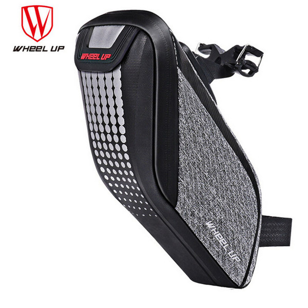 Mountain Cycling Bike Saddle Bag Waterproof Road Bicycle Back Seat Tail Package Outdoor Cycling Mini Saddle Seatpost Bag