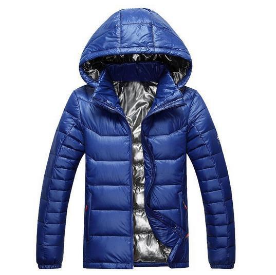 Yeni Açık Zirvesi Yürüyüş Aşağı Ceket erkekler 100% Beyaz Ördek Aşağı Ceket Kış Sıcak Ceket erkekler Doldurma Güç